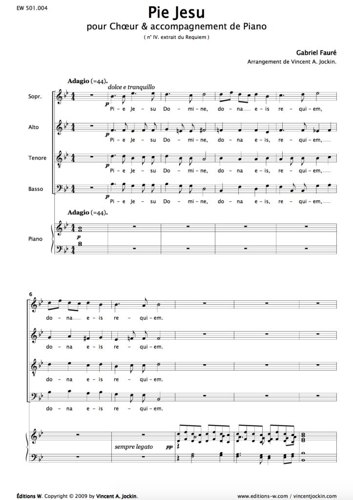 Gabriel Fauré : Pie Jesu