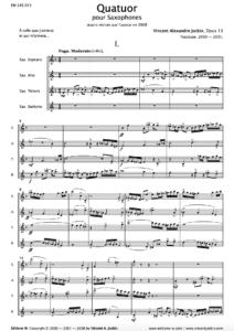 Quatuor, Opus 13