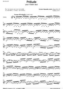 Prélude, Op. 26, n° 2